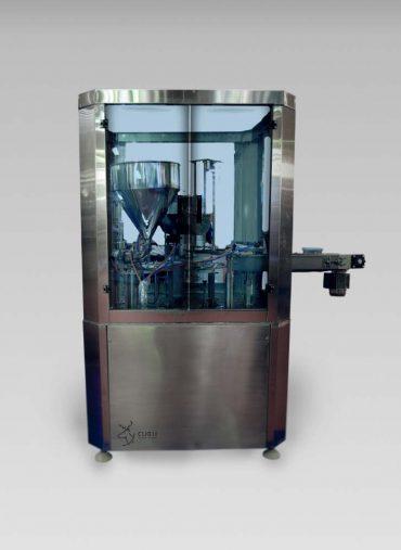 ماكينة دائرية لتعبئة و لحام عبوات الجبنة