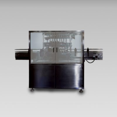 Overflow filling machine