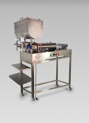 Semi-automatic filler