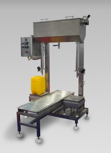Semi-automatic weigh filler